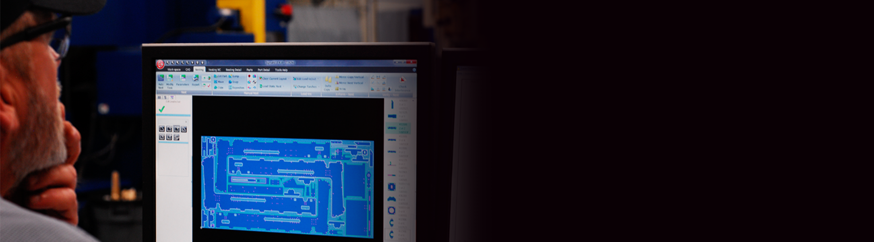 Oprogramowanie CAD/CAM do optymalizacji cięcia - SigmaNEST