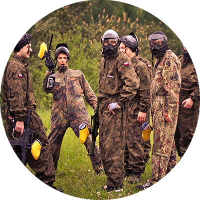 User Day 2017 - Paintball