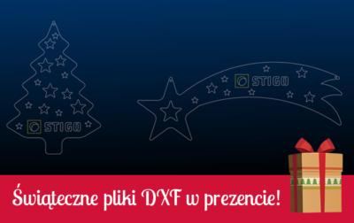 świąteczne pliki dxf