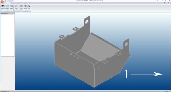SigmaBEND - Gotowy rozwinięty model 3D