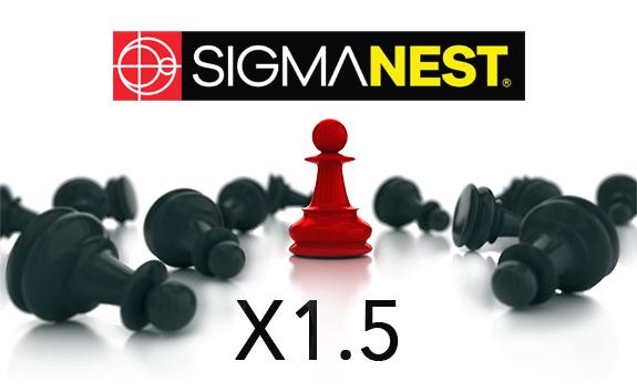 SigmaNEST X1.5 - Premiera