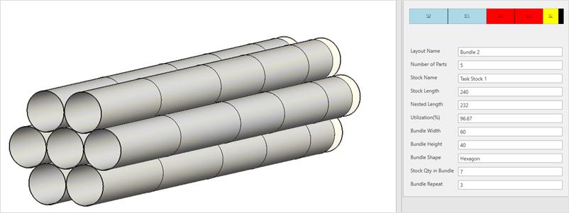 Moduł 3D Cut-to-Length - SigmaNEST X1.6