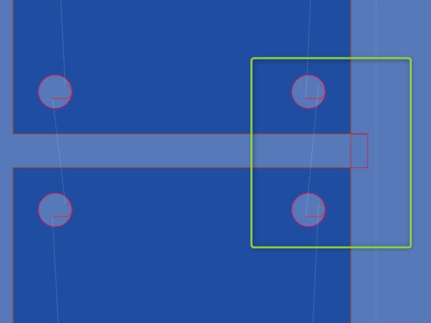 """Nowość: SigmaNEST X1.7 - Możliwość wprowadzenia ujemnej wartości szerokości mostka dla opcji """"Automostek na wyjściu"""""""