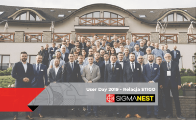 Konferencja User Day 2019 - SigmaNEST
