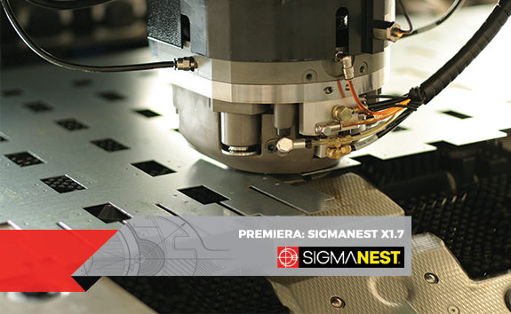Premiera - SigmaNEST X1.7
