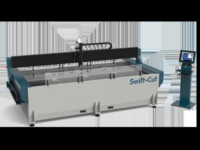 Swift-Jet - stół CNC do cięcia strumieniem wody - SigmaNEST