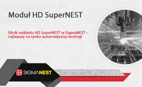Najlepszy automatyczny nesting - SuperNEST HD