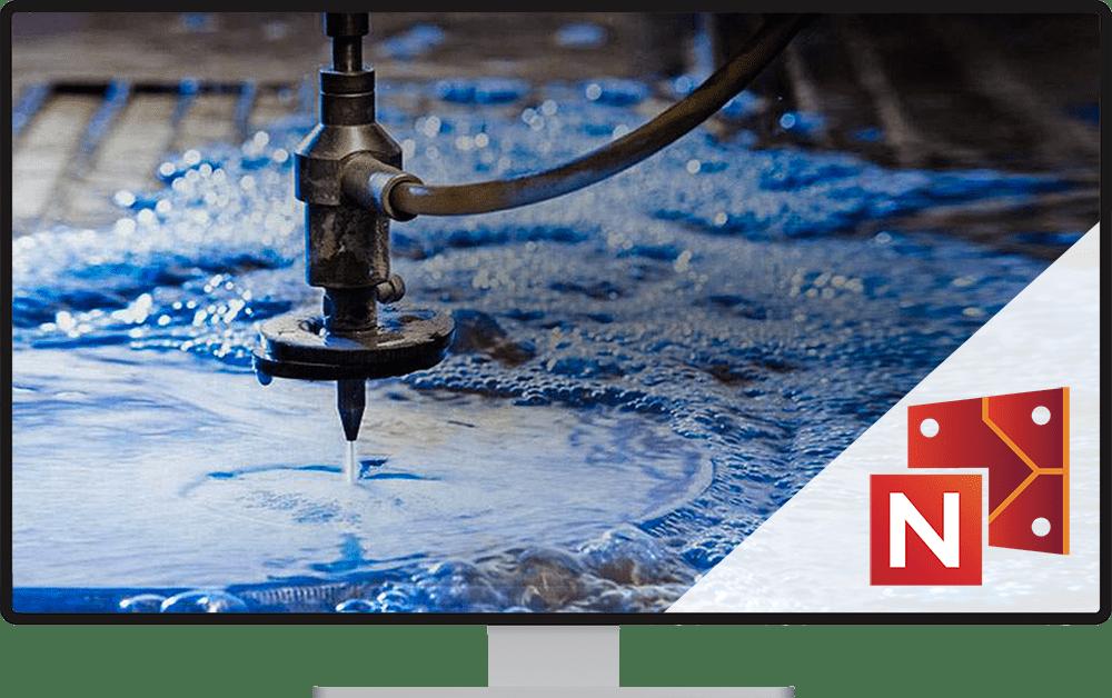 CAM Waterjet - program do cięcia strumieniem wody SigmaNEST