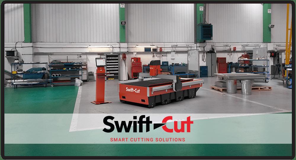 Stoły plazmowe i waterjet Swift-Cut