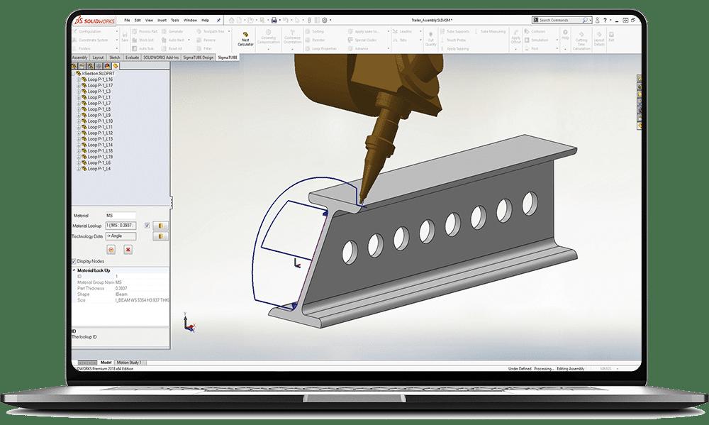 Program do 3D SigmaNEST