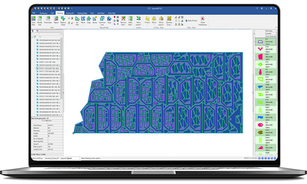 Przetestuj oprogramowanie CAD CAM SigmaNEST
