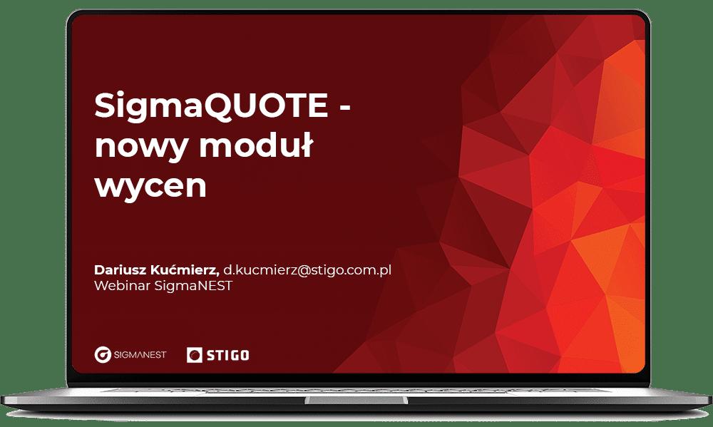 SigmaQUOTE - nowy moduł wycen